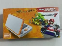 New Nintendo 2Ds XL, Edição Mario Kart, Lacrado, Na Caixa, Completo