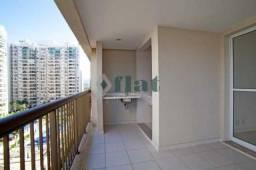 Apartamento à venda com 2 dormitórios em Barra da tijuca, Rio de janeiro cod:FLAP20115