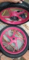 Aro e rodas cg titan 160