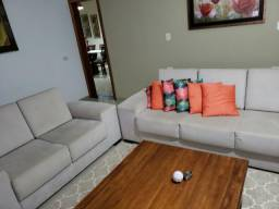 Conjunto de sofás de 2 e 3 lugares