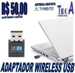 Mini Adaptador Wireless USB 300mbps Wifi