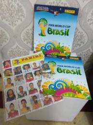 Álbum Copa 2014 Brasil Completo