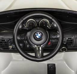 Veículo Elétrico com Controle - 6V - BMW X6M - Branca - Bandeirante