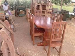 Promoção mesa de 6 cadeiras