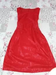 Vestido vermelho veste m