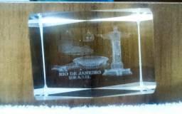 Lembrança Do Rio De Janeiro Em Cristal