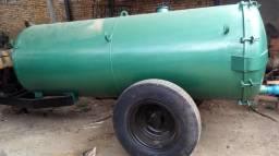 Carreta tanque 4000 litros reforçada