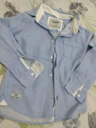 Camisa e calça infantil