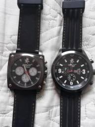Vendo esses dois relógio