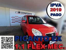 Kia picanto 2011 1.0 ex 12v flex 4p manual - 2011