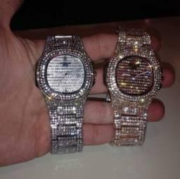 Relógios Patek Cravejados