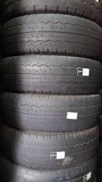 Jogo de pneus de Carga Aro 15c 195/70 Dunlop