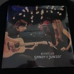 VINIL DUPLO Marrom Translúcido Sandy e Junior - Acústico