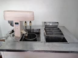 Maquina de gelo barra e sorvetes e picolé