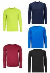 Camisa/Blusa Proteção Solar Uv 50 - Kit 5 peças