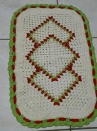 Tapetes avulsos pronta entrega em crochê