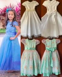 Vende-se vestidos de alta costura infantil