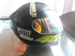 Capace AGV K3 Valentino Rossi (Raridade)