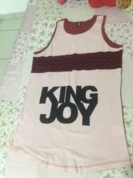 Camiseta Long King Joy / tamanho M