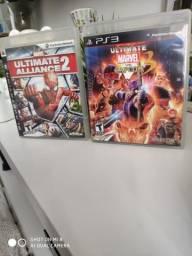 Ultimate Marvel vs Capcom 3 e Marvel Alliance 2 comprar usado  Curitiba