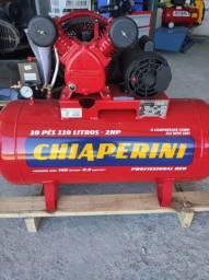 Compressor 10 Pés 110 Litros Chiaperini