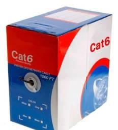 Cabo de Rede CAT 6 UTP (na medida que vc quiser) Até 1000mbp/s