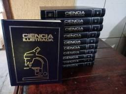 Coleçao . livros ciencia ilustrada.