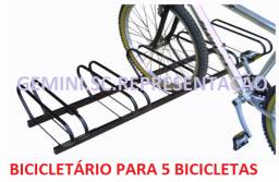 Bicicletario Para 5 Bicicletas