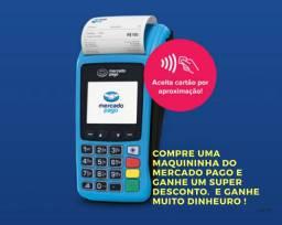Máquina de cartão do mercado pago