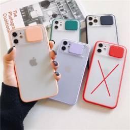 Case Iphone com proteção para câmera *R$39,99
