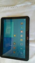Tablet gigante samsung 10 polegadas com entrada pra chip e cartão de memória de 64gigas