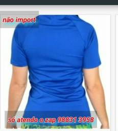 Camisa proteção uv manga curta