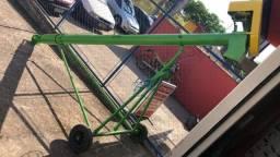 Chupim Transportador de grãos 4 metros de 4 polegadas