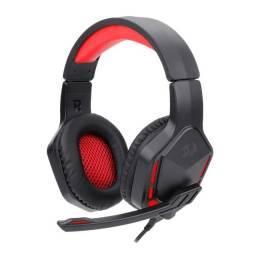 Headset Gamer Redragon Themis 2 Drivers 50mm Preto/Vermelho - Loja Natan Abreu