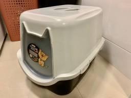 Título do anúncio: Sanitario banheiro fechado para gatos pequenos e médios Durapets Toalete DuraCat