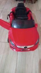 Título do anúncio: Carrinho elétrico e cadeira de bebe para carro