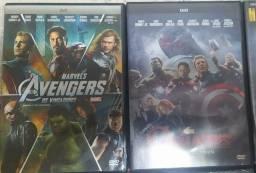 Título do anúncio: Coleção Dvds Marvel originais