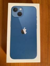 Título do anúncio: IPhone 13 256 GB Azul Novo