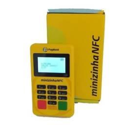 Título do anúncio: Maquina Maquininha Cartão Credito Debito Minizinha NFC-Entrega Grátis