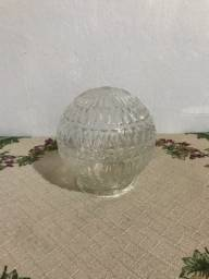 Lustre Plafon Luminaria Vintage Drops Classico Em Vidro