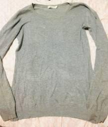 Título do anúncio: Suéter cinza