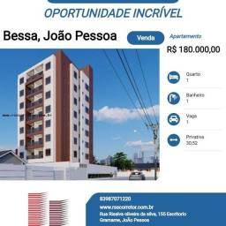 Título do anúncio: Apartamento para Venda em João Pessoa, Bessa, 1 dormitório, 1 banheiro, 1 vaga