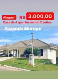 Título do anúncio: Aluguel casa na fazenda Muriqui