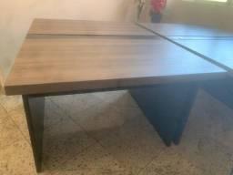 mesas em estado de novo