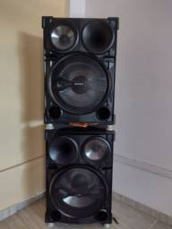 Título do anúncio: 2 caixa de som da Sony ch2000