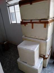 Título do anúncio: Vendo caixas de isopor