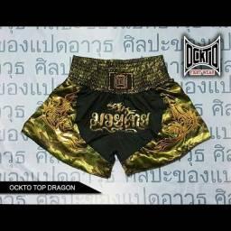 Short de Cetim para treino de Muay Thai