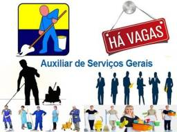 Título do anúncio: Vaga Auxiliar de Serviços Gerais