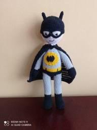 Título do anúncio: Batman  crochê Amigurumi.