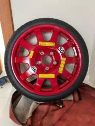 Estepe pneu fino zero km
